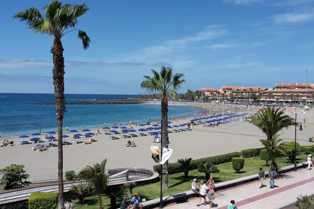 Vistas' Beach Tenerife