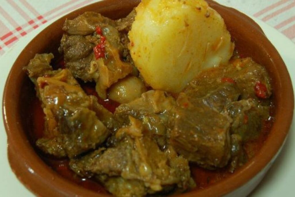 MADE OF GOAT MEAT